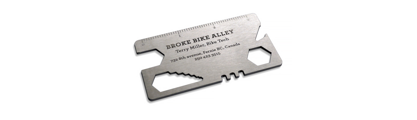 Bicycle Tools Business Card