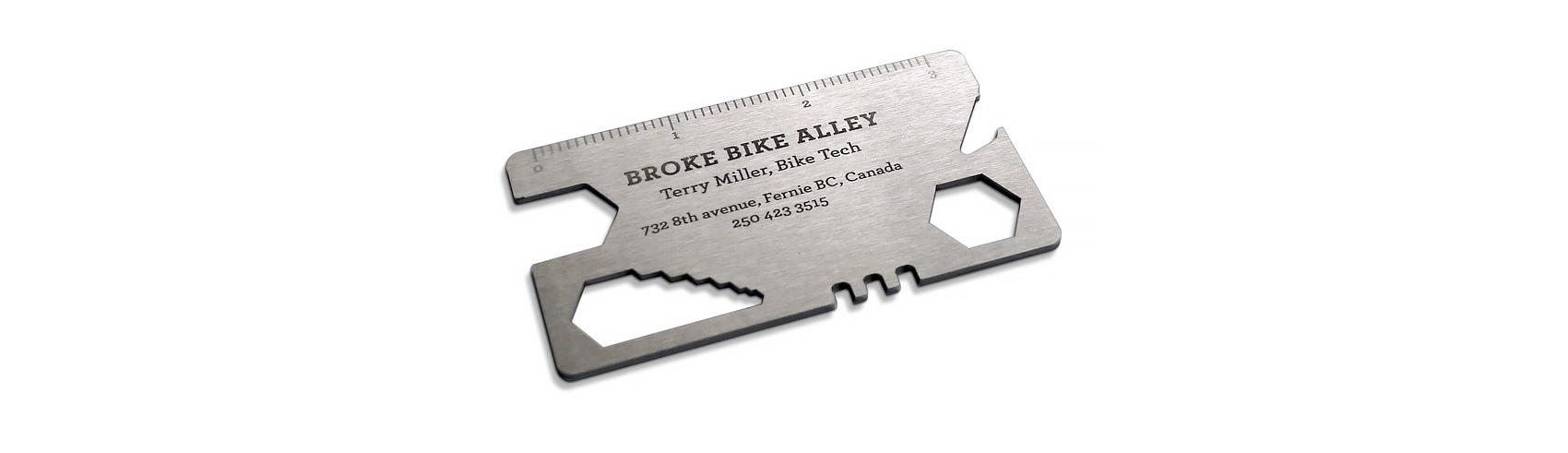 Broke Bike Alley Business Card