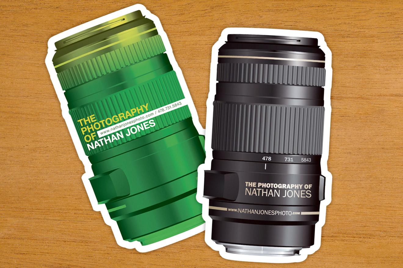 Camera Lens Business Card
