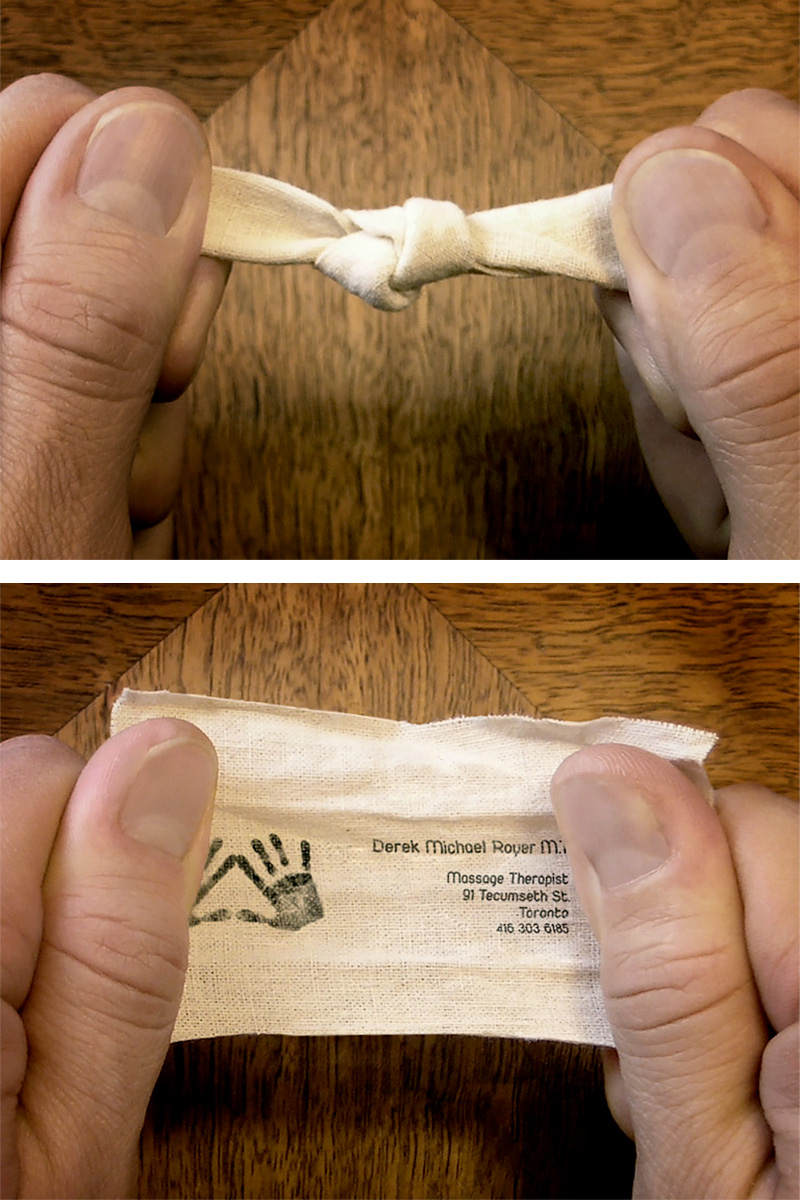 Knot Business Card