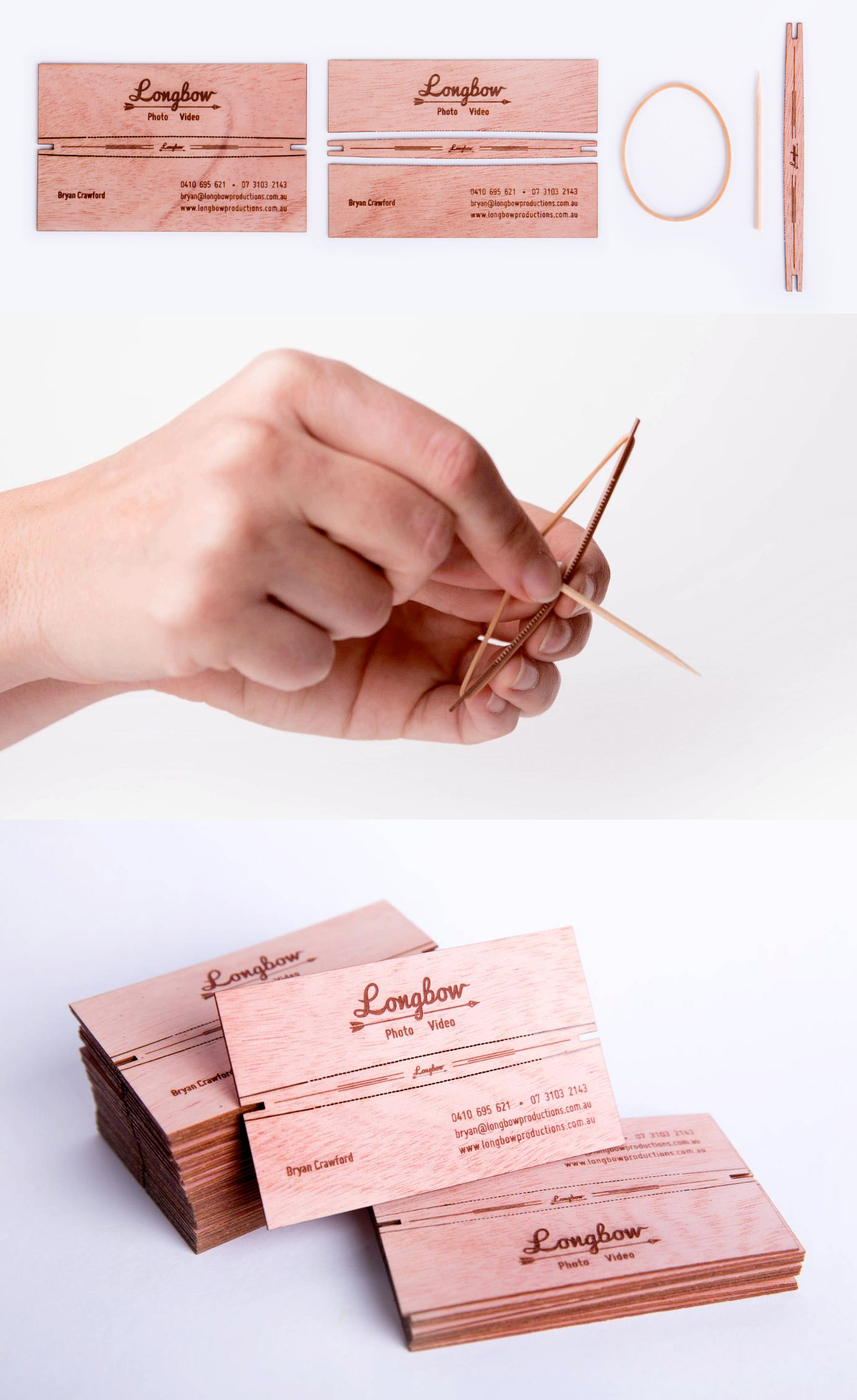 Longbow Business Card