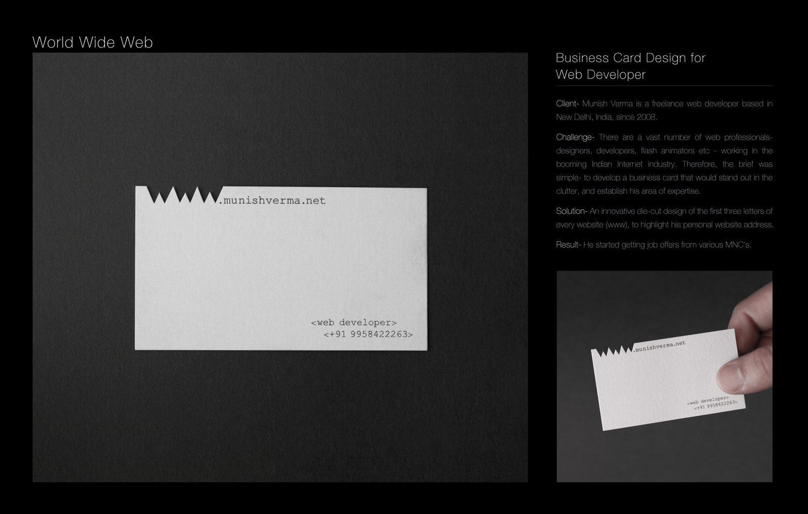 WWW Business Card