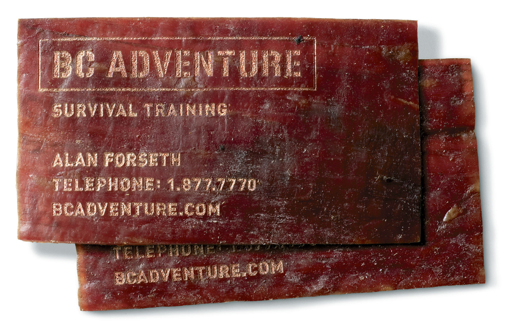 BC Adventure Business Card