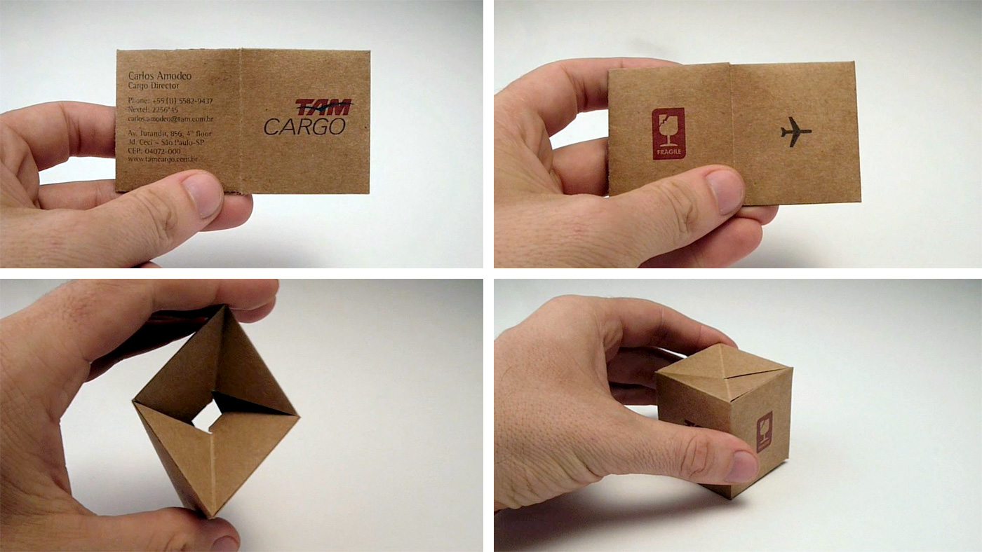 Shipping box business card colourmoves