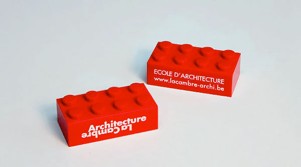 Clever business cards lego brick business card reheart Choice Image