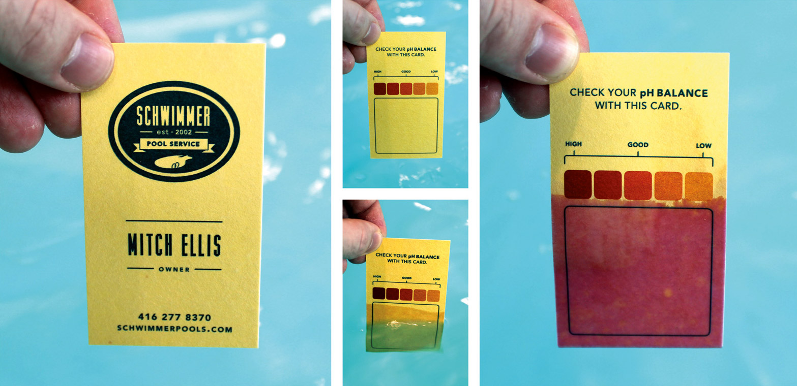 pH Business Card