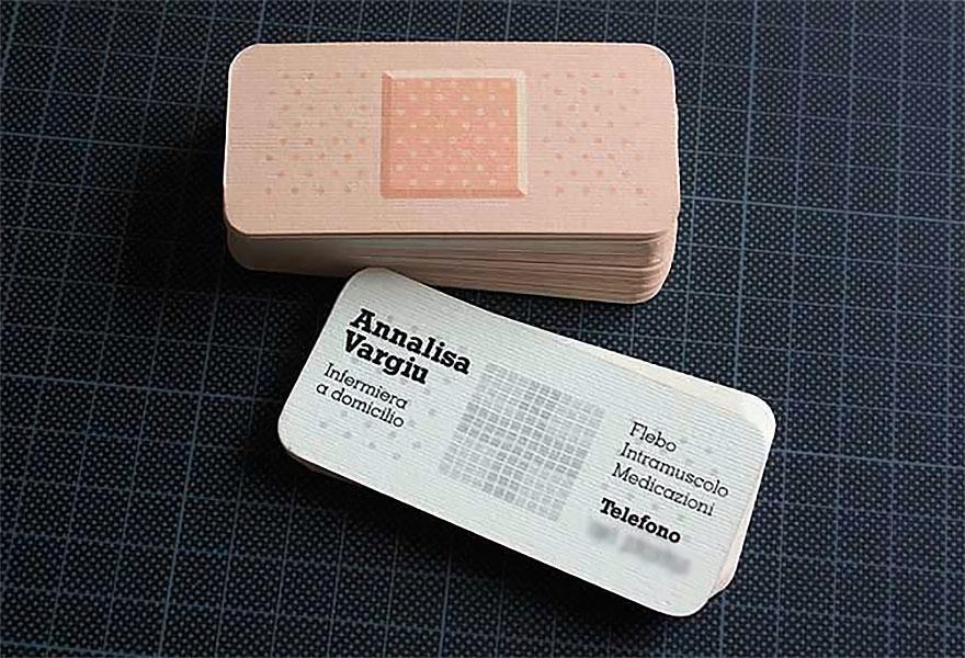Bandage Business Card