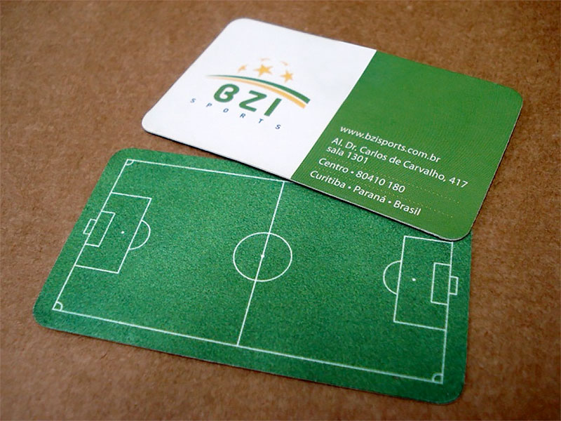 BZI Sports Business Card