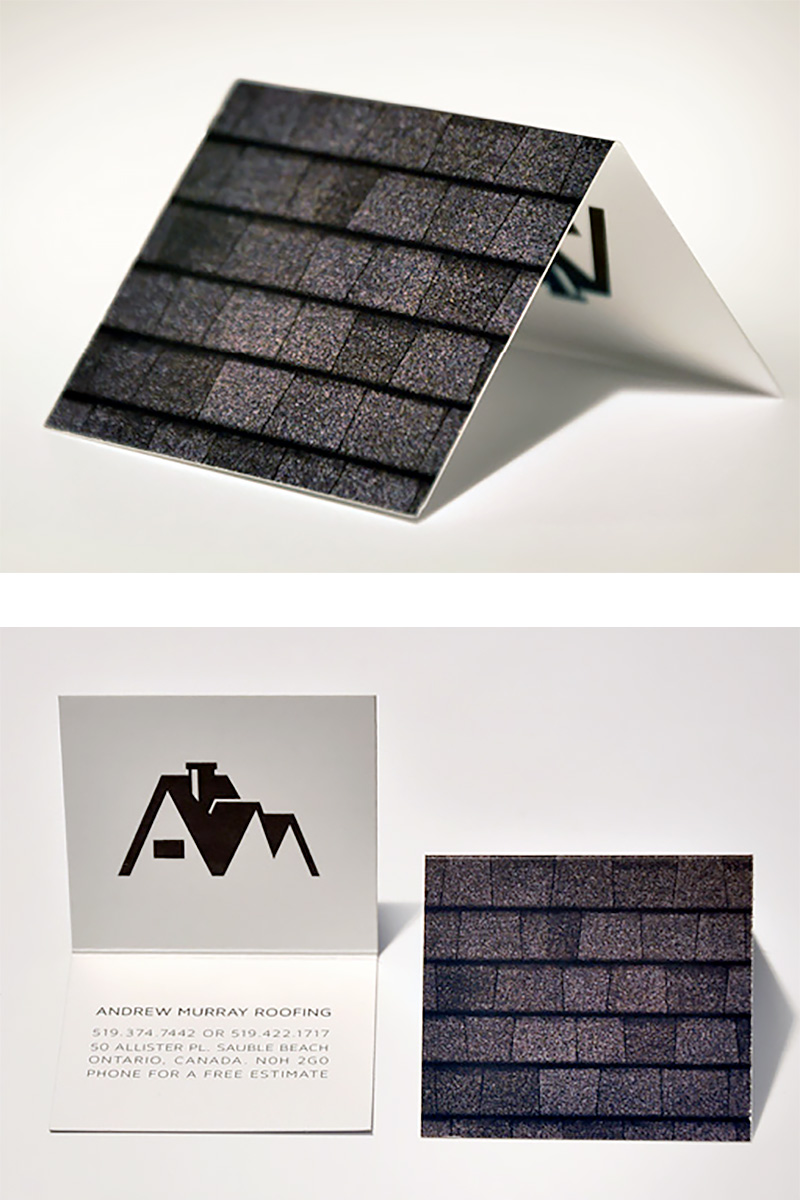 Roof Business Card