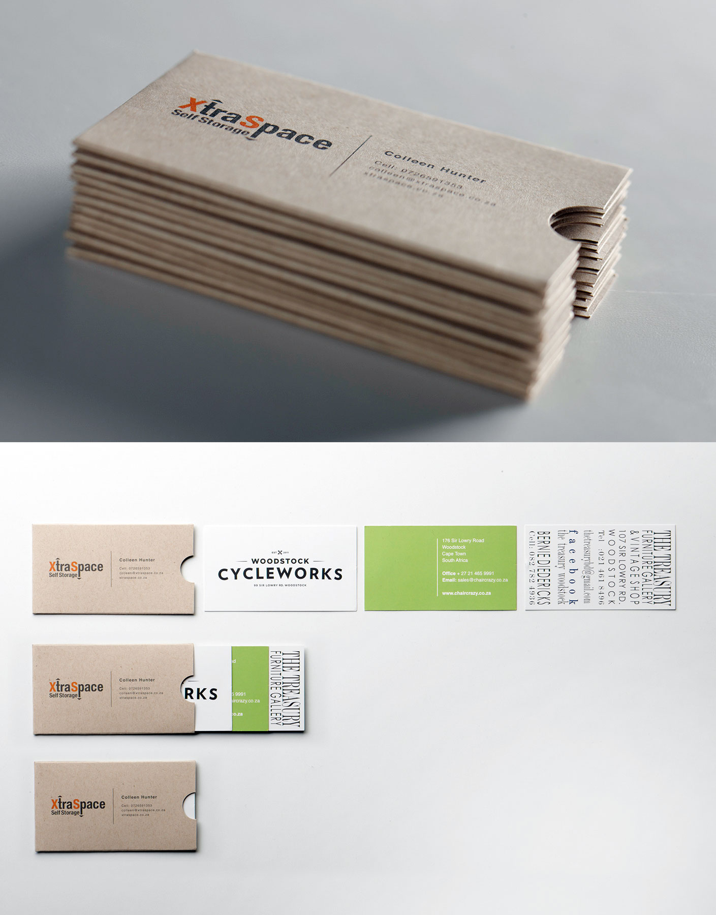 Storage Business Card