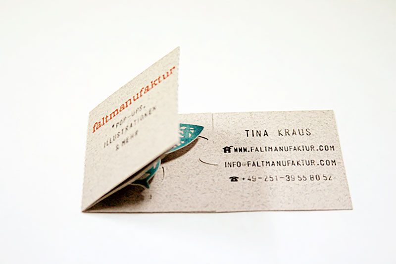 Tina Kraus Business Card