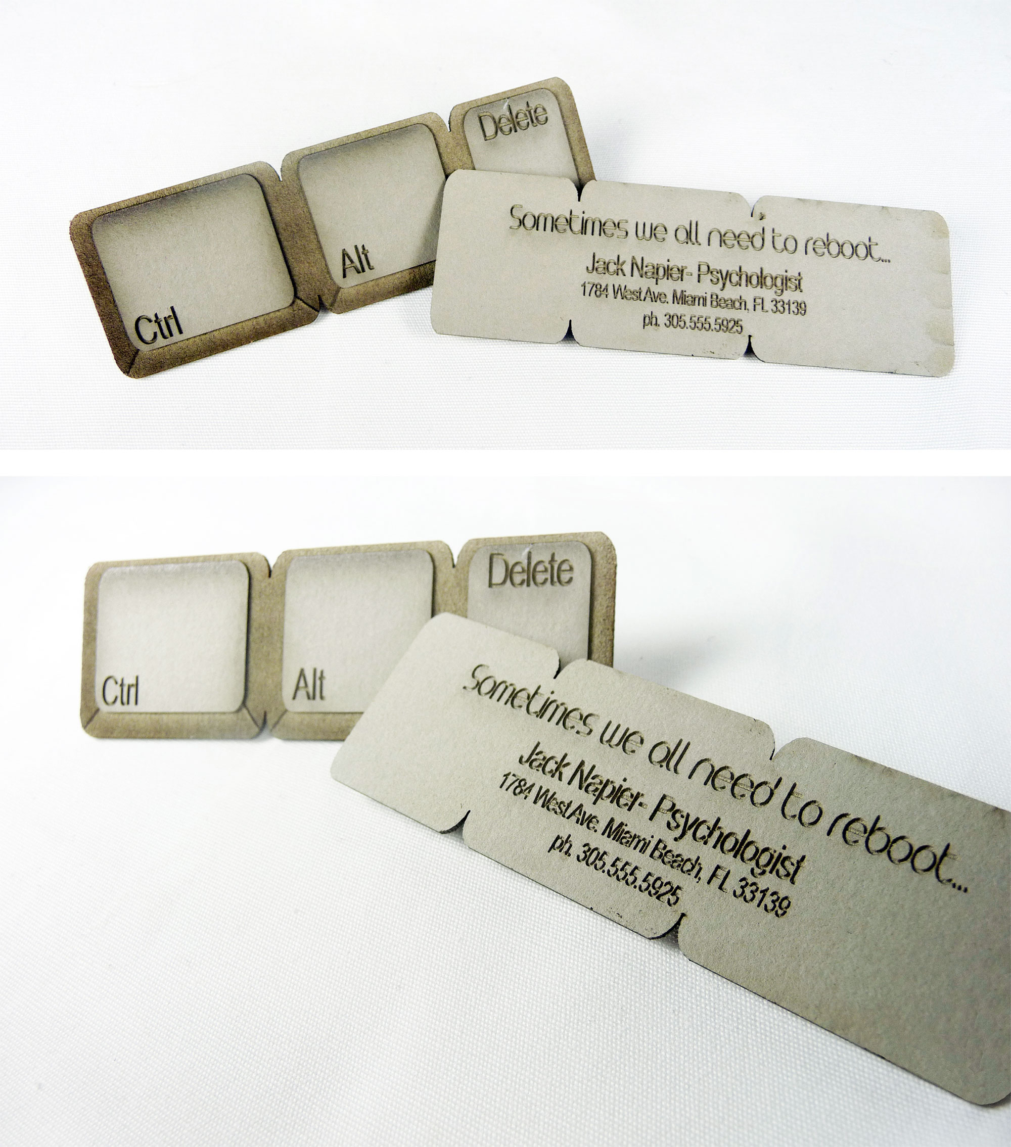 Ctrl-Alt-Delete Business Card