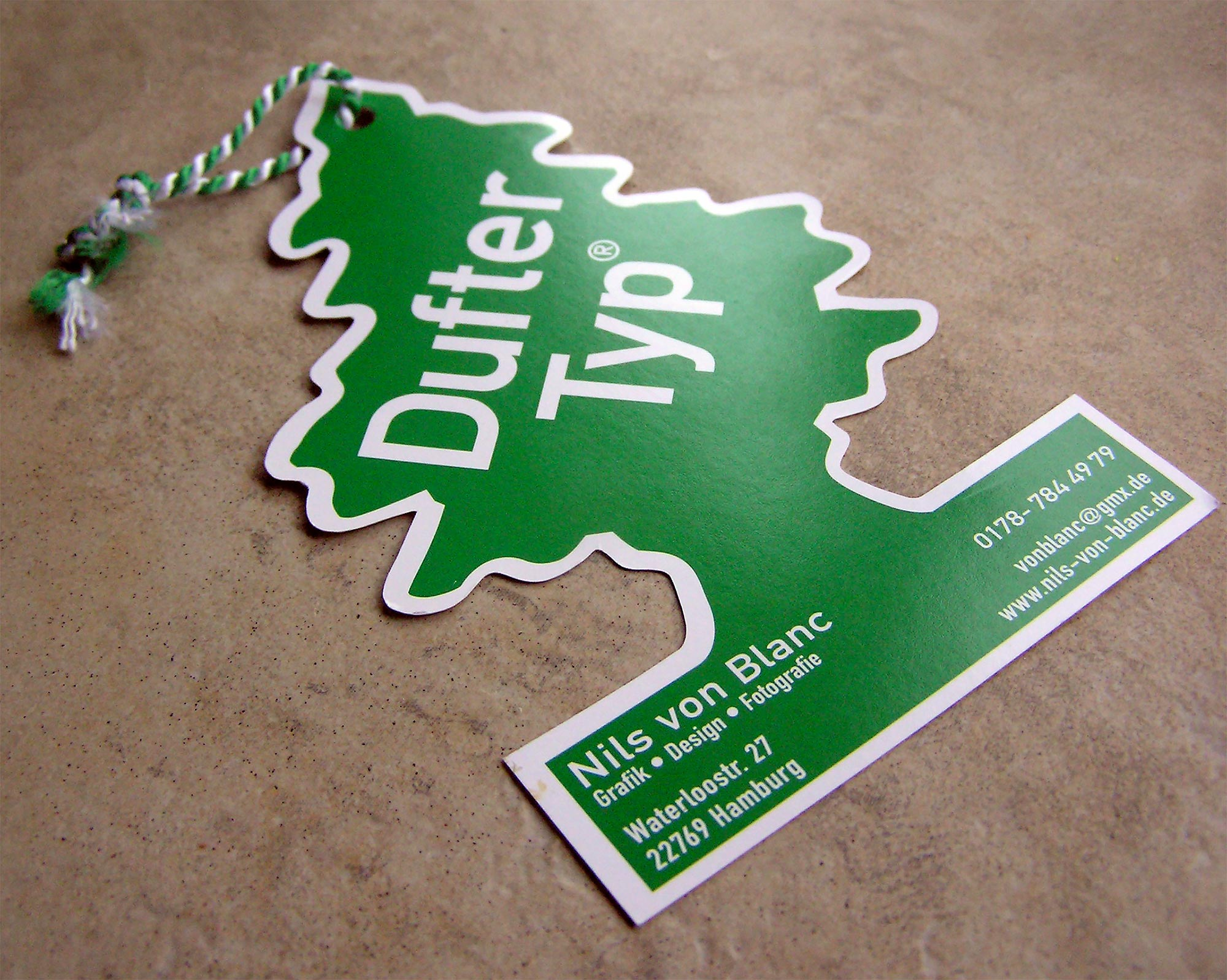 Green tree business card colourmoves