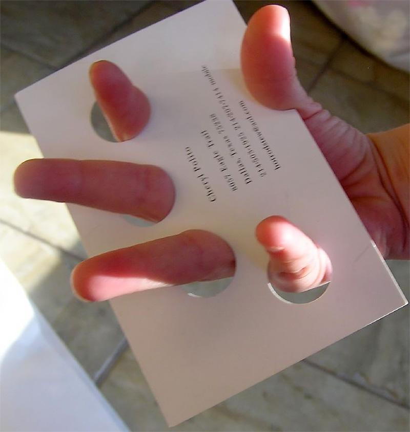 Manicurist Business Card
