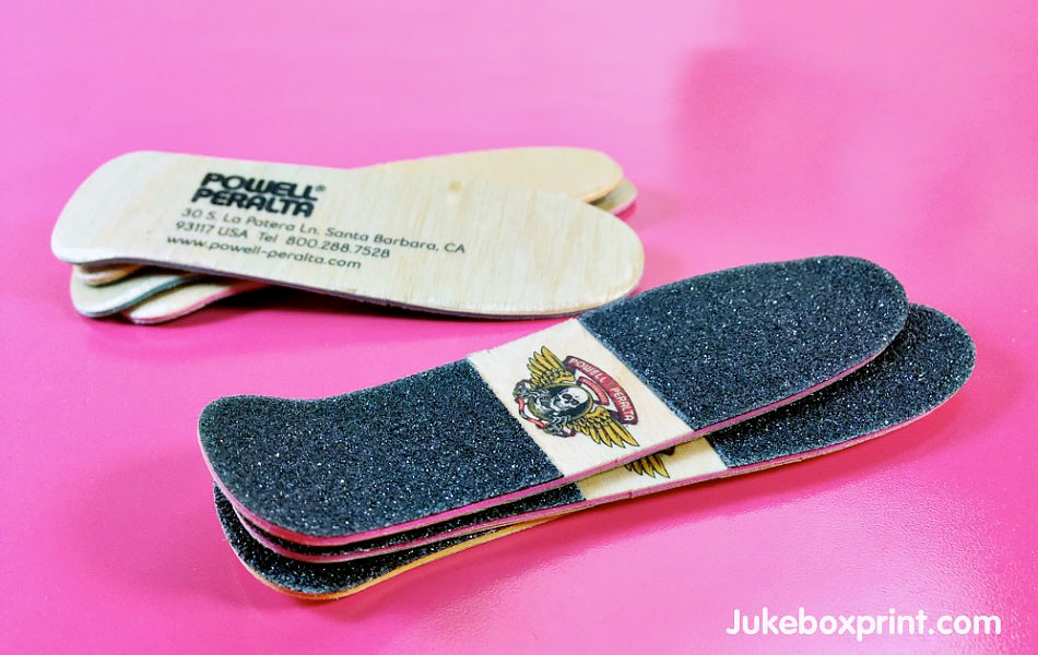 Skateboard Business Card