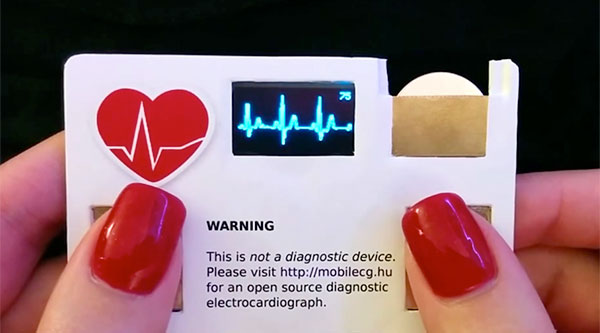 Clever business cards heart monitor business card colourmoves