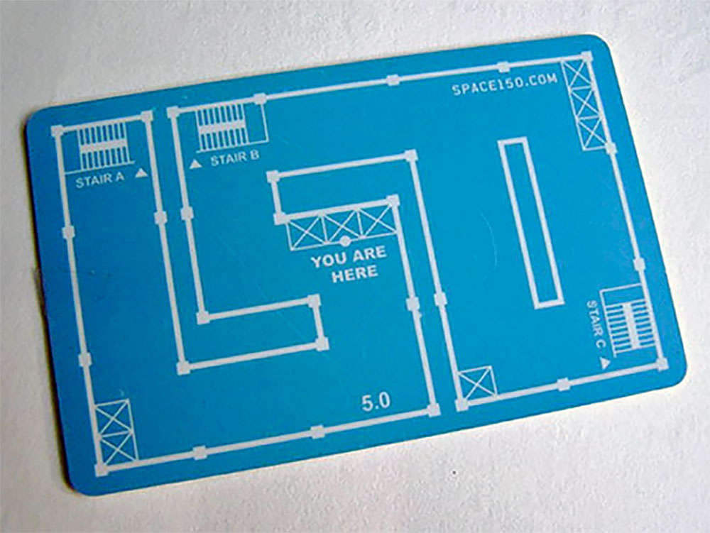 Blueprint Business Card