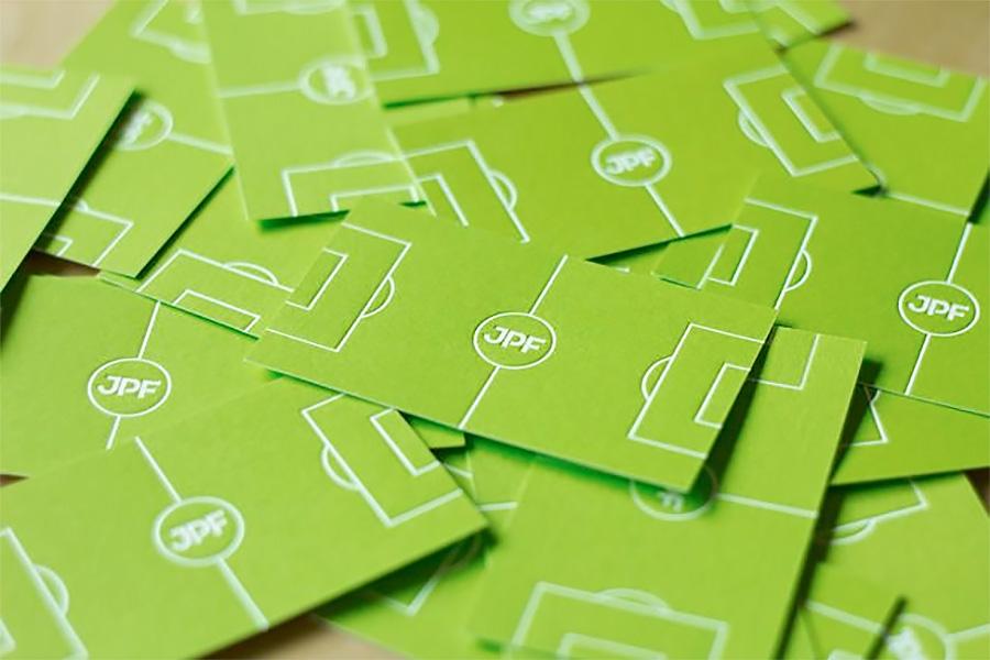 Soccer Business Card